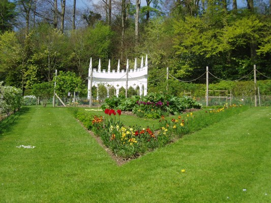 Jardín Painswick Rococo 1