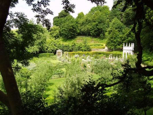 Jardín Painswick Rococo 2