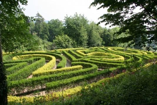 Jardín Painswick Rococo 5