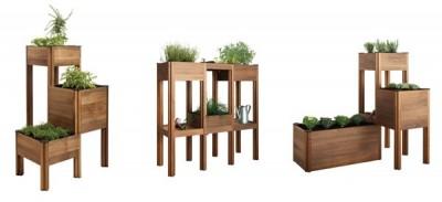 Mobiliario para minijardines 1