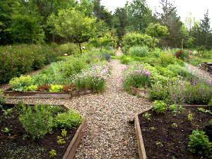 Caminos y senderos en el jardín2