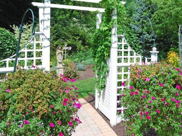 Arcos y pérgolas para el jardín 2
