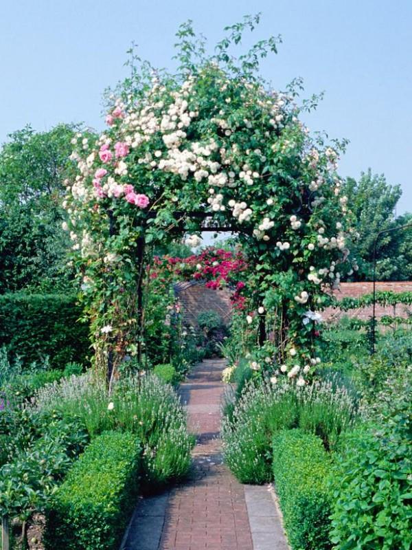 Arcos y p rgolas para el jard n for Arcos de jardin
