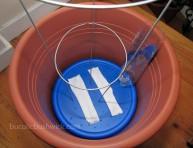 imagen Convertir una maceta corriente en autorriego