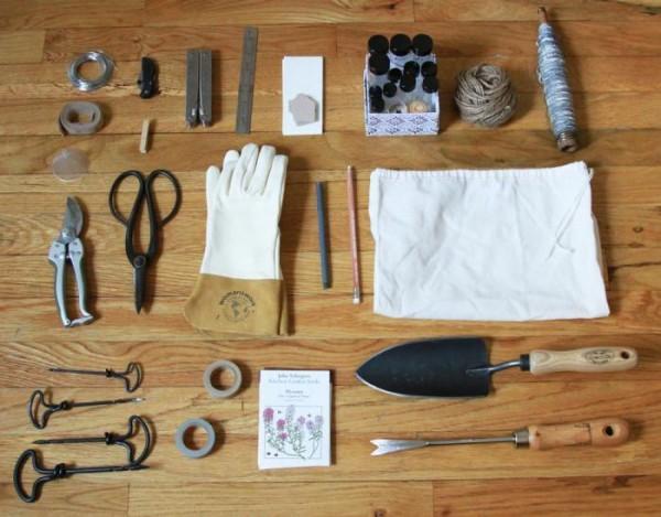 Las herramientas de un jardinero urbano for Herramientas que se utilizan en un vivero