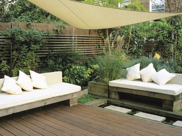C mo crear espacios privados en la terraza o el jard n for El jardin acordes
