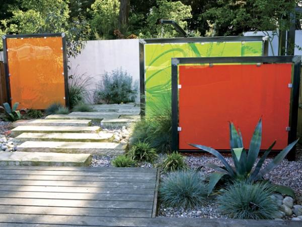 Espacios privados en el jardín 7
