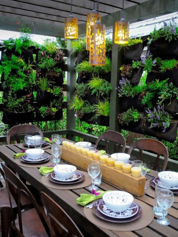 Cómo crear espacios privados en la terraza o el jardín