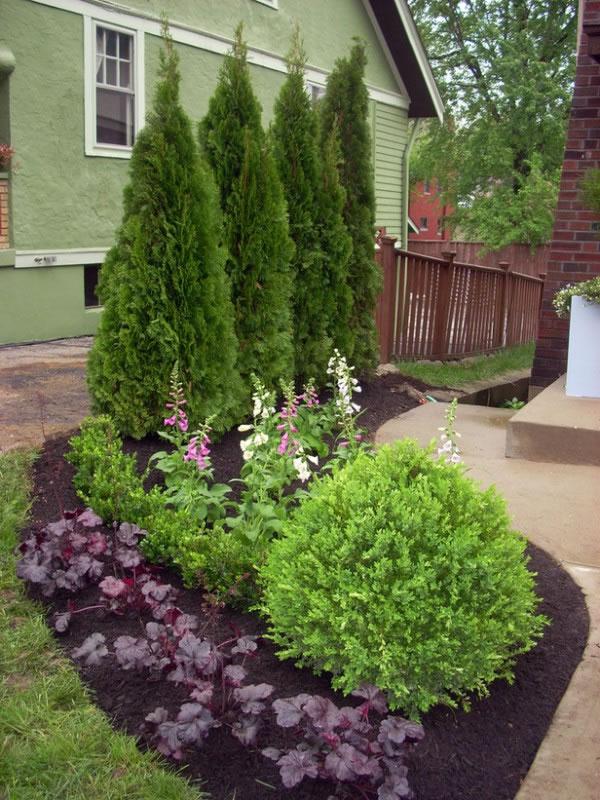 Espacios privados en el jardín 4