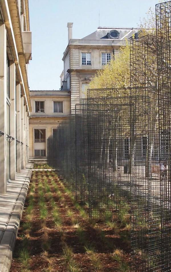 Jardín del Hôtel de Soubise 2