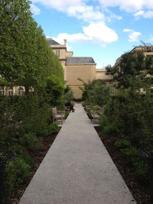 Jardín del Hôtel de Soubise 4