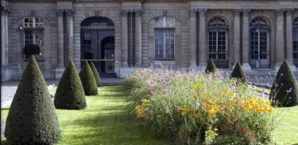 Jardín del Hôtel de Soubise 3