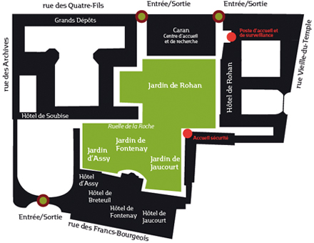 Jardín del Hôtel de Soubise 5