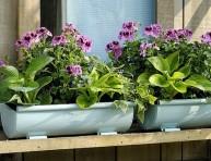 imagen Decorar el jardín con objetos recuperados