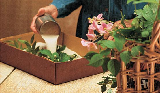 Secar flores con arena 2