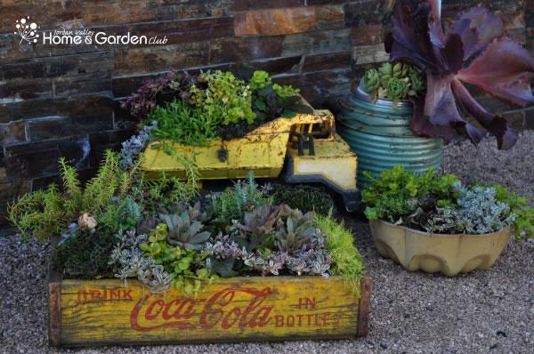 Jardineras de estilo vintage 1