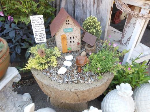 Jardínes de hadas en miniatura 1