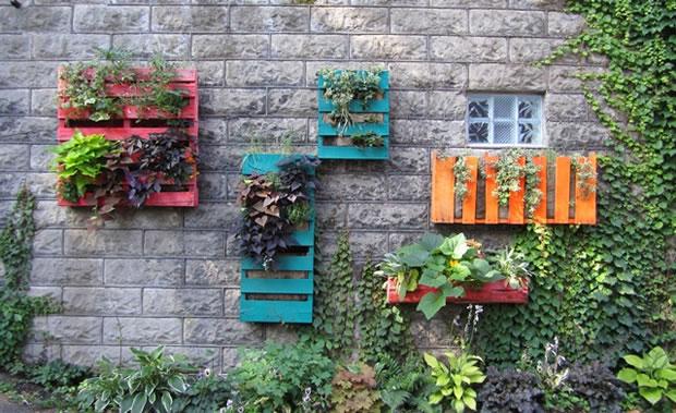 Palets para el jardín 1