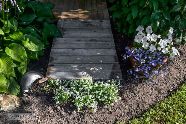 Palets para el jardín 3