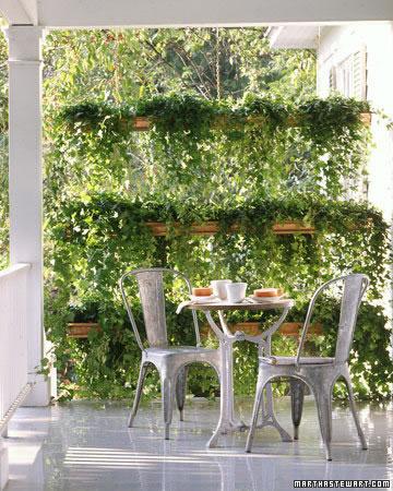 Cómo tener más privacidad en el jardín 4