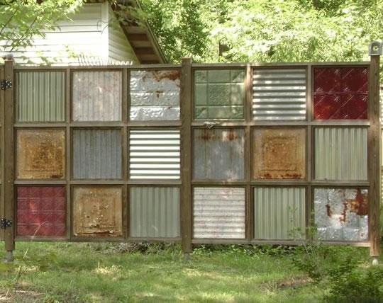 Ideas diy para tener m s privacidad en el jard n - Biombos para jardin ...