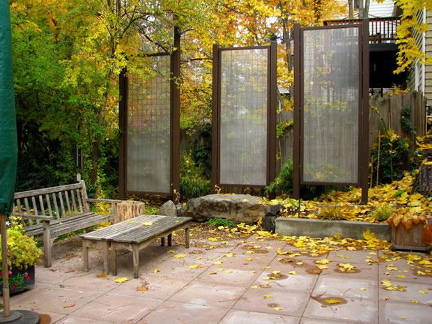 Cómo tener más privacidad en el jardín 9
