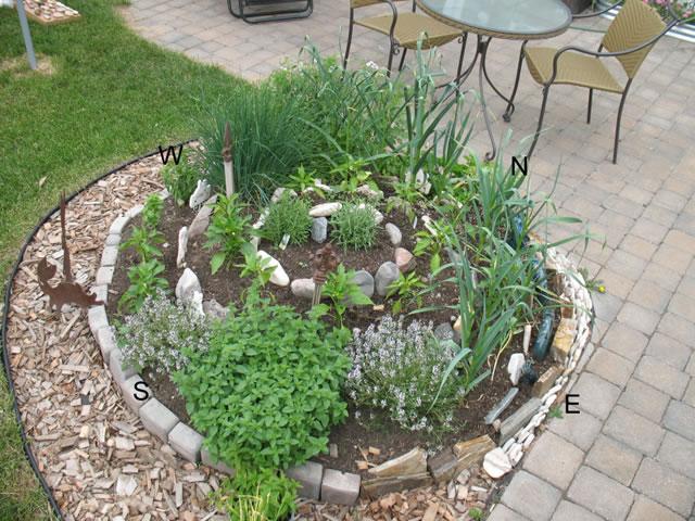 Jardín espiral DIY 1