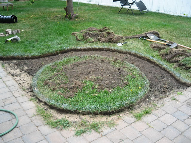 Jardín espiral DIY 3