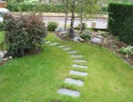 imagen Instalar un paso japonés en el jardín