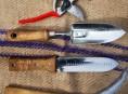 imagen Limpieza de las herramientas de jardinería