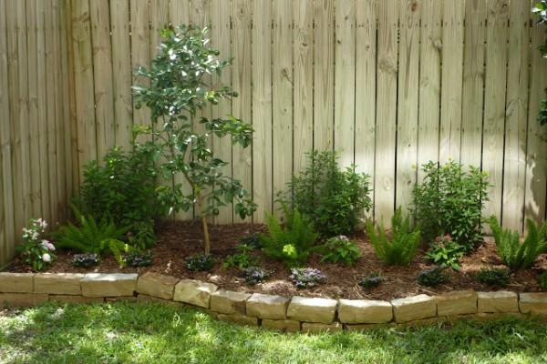 Ideas con ladrillos para el jardín 4