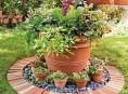 imagen 13 ideas con ladrillos para el jardín