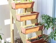 imagen Cómo hacer un jardín vertical escalonado