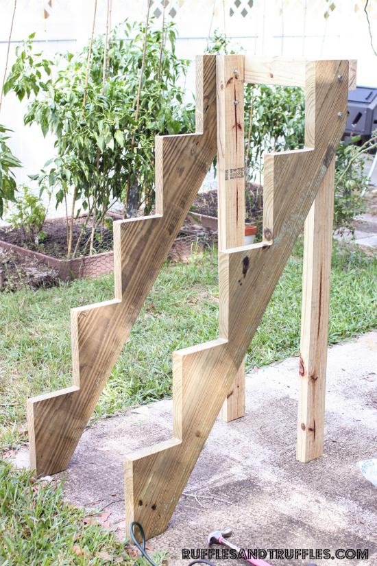 C mo hacer un jard n vertical escalonado for Como se hace un jardin vertical