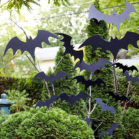 Deco jardín en halloween 2