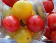 imagen El tomate cherry amarillo