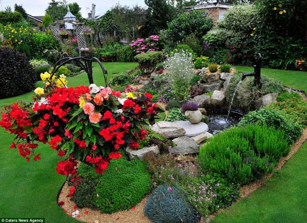 El jard n m s precioso e inmaculado de inglaterra - El jardin en casa ...