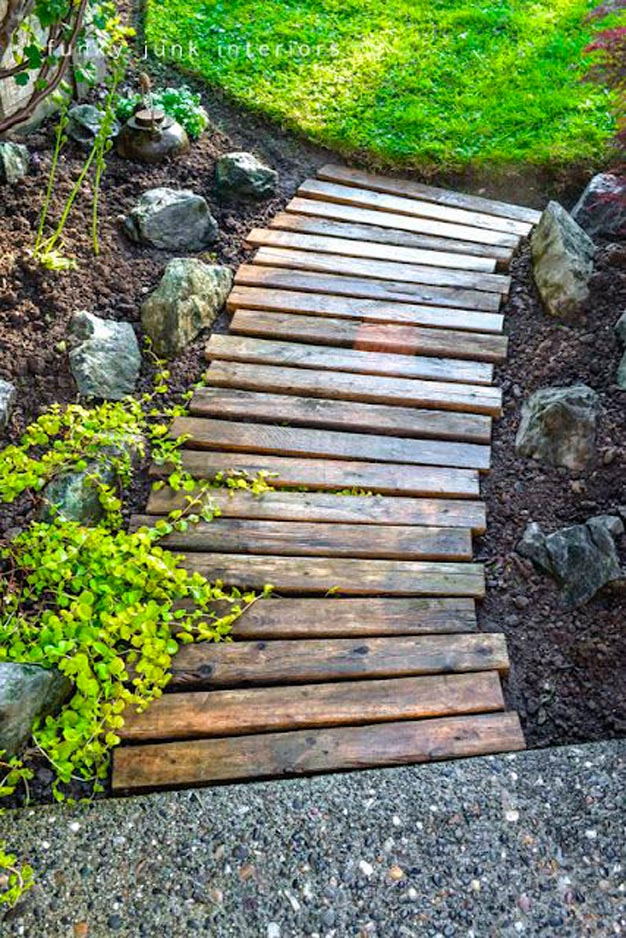 8 ideas de caminos para el jard n for Jardines ideas economicas