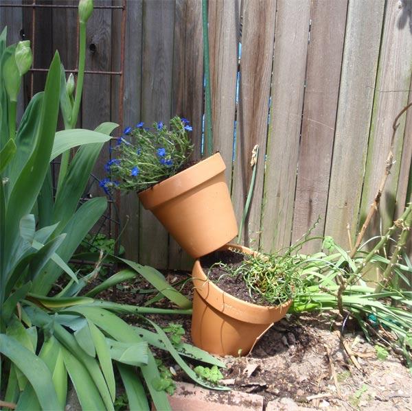C mo armar un jard n vertical con macetas - Jardin con macetas ...