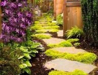 imagen Plantas perfectas para sembrar en un camino de jardín