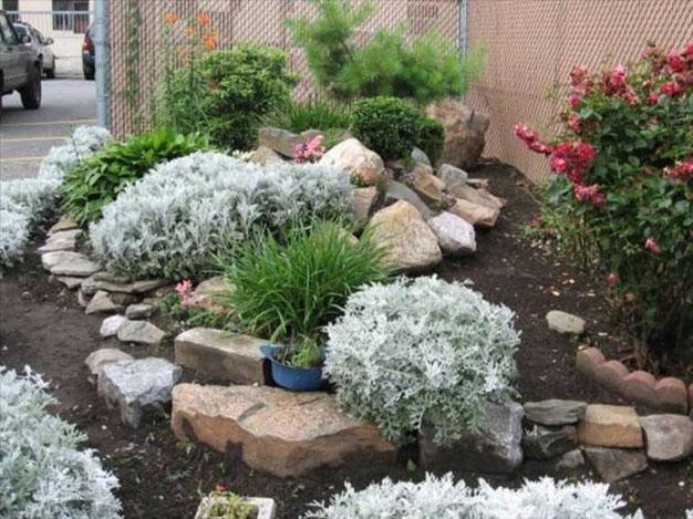 10 ideas con piedras para el jard n for Sassi piatti per giardino