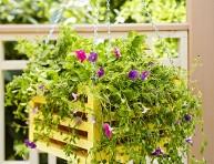 imagen Jardinería práctica: construye tu propia jardinera colgante
