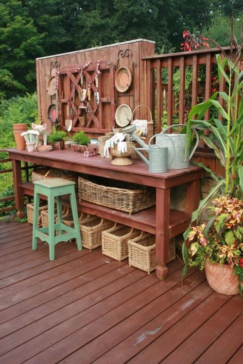 Rincones para jardinería 13