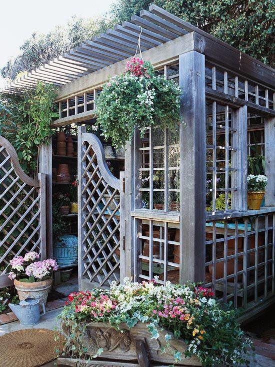 Rincones para jardinería 14