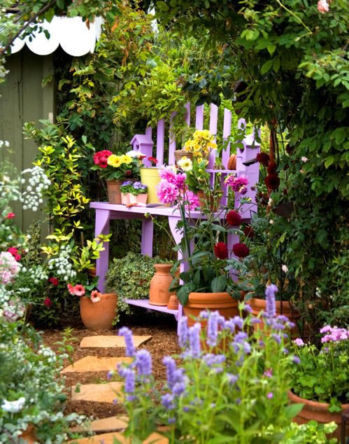 Rincones para jardinería 18