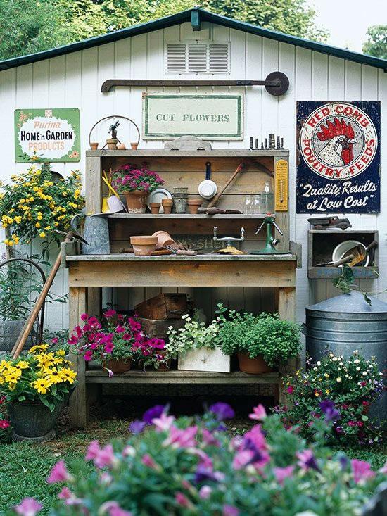 Rincones para jardinería 6