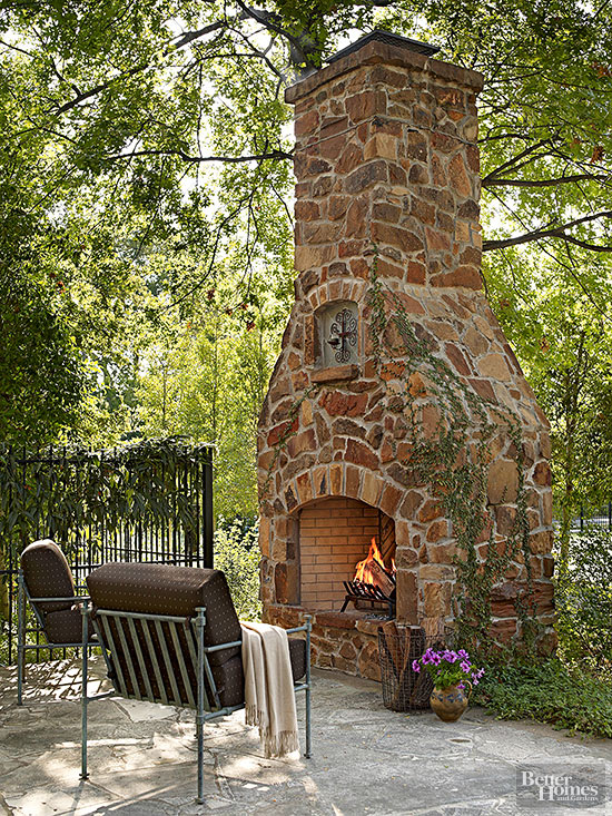 9 ideas de chimeneas para tu patio