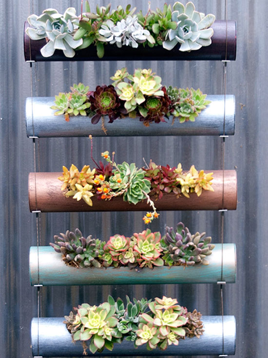 Ideas para montar un jard n vertical for Jardin vertical exterior
