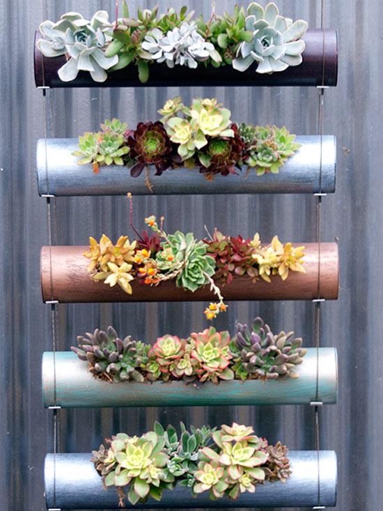 Ideas para montar un jard n vertical - Como hacer un jardin vertical de interior ...