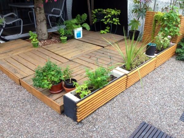 patios con deck hechos de palets art culo publicado el por